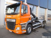 DAF FAT CF 410 6x4 Euro 6 Abrollcontainer