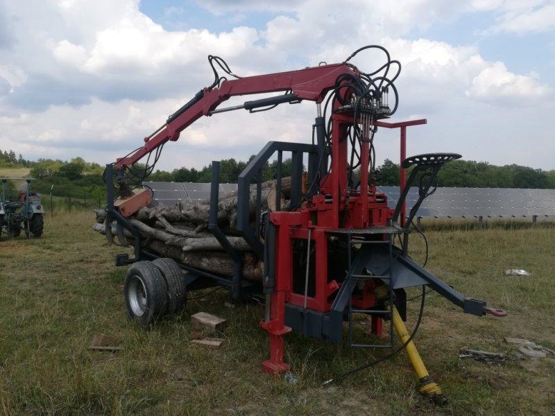 Eigenbau Holzrückewagen mit Kran Rückewagen